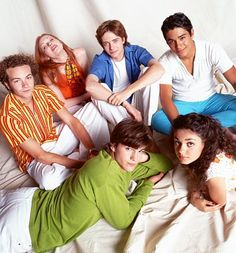 cuties! Hyde, Donna, Eric, Fez, Kelso and Jackie