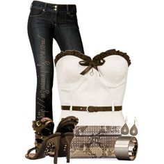 """""""Untitled #1166"""" by mzmamie on Polyvore"""