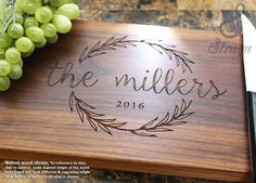 Personalized Cutting Board  Engraved by StragaCuttingBoards