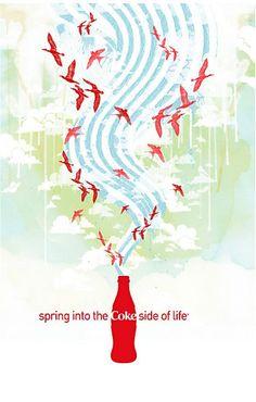 Coke poster designs