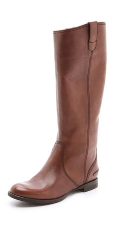 Madewell's signature riding boots, cut from soft leather. Seams detail the shaft and pull tabs accent the top line. Stacked heel and rubber sole. Leather: Cowhide. Made in Italy.