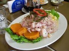 comida peruana - Cebiche, uno de mis platos favoritos, bien picante!