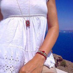 ❤️ #handmade #necklace #bracelet #macrame #amcandy #evileye #bohochic #jewelry #resortjewelry #semipreciousstones Macrame Necklace, Evil Eye, Boho Chic, White Shorts, Bracelets, Necklaces, Instagram Posts, Handmade, Jewelry