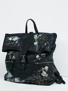 VIOLET STORM LEATHER BACKPACK #stye #fashion #trend #onlineshop #shoptagr