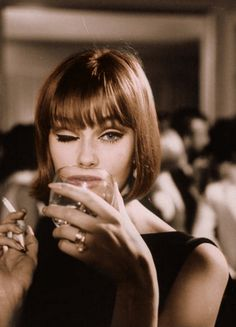 Ina Balke 1964 - vlasy, make up, styl