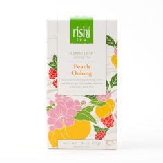 Rishi-Tea Peach Oolong - Large Box http://rishi-shop.co.kr :D