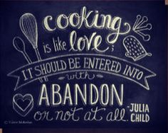 "If variety is the spice of life, then my life must be one of the spiciest you ever heard of. A curry of a life. -Paul Child"" child quot, chalkboards, quotes, art prints, chalkboard art, children, cooking, julia childs, kitchen"