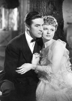 """tcm: """"Ray Milland and Anna Neagle in IRENE ('40) """""""