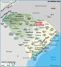 9 Best Maps Images County Map Map Of Usa Aiken South Carolina