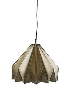 Ollie Origami Pendant Light  #globewest #texture #metal  www.globewest.com.au