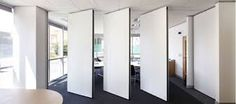 Image result for folding acoustic partition walls white