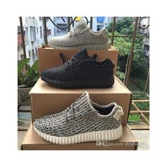 c747f82804d615 (with Box)cheap Sneakers Training 2016 New Kanye Milan West Boost 350  Moonrock Oxford Tan Pirate Black Turtle dove Men Sports Shoes