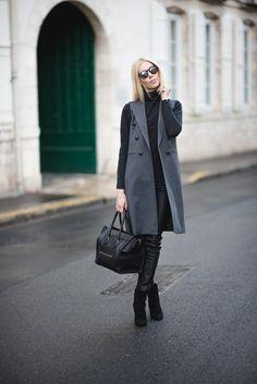 Grey vest / Style Plaza