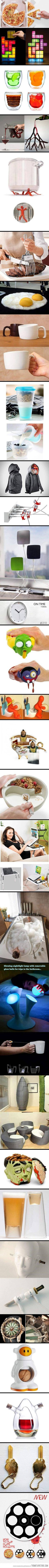 interesting inventions, I want some of them!