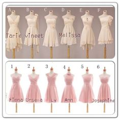 short bridesmaid dresses chiffon bridesmaid dress by okbridal