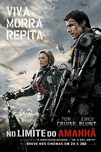 Sinopse:Quando a Terra é tomada por alienígenas, Bill Cage (Tom Cruise) é obrigado a juntar-se às Forças Armadas e ir para a linha de frente no dia do confronto final. Inexplicavelmente ele acaba ...