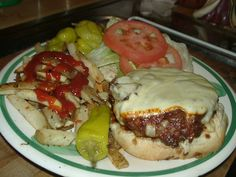 Grandville's Bacon Cheese Burger