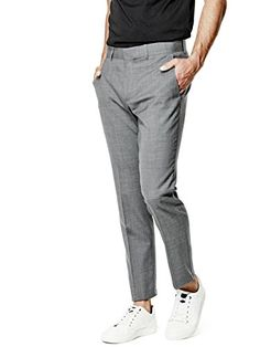 GUESS Men's Maddox Slim Suit Pants GUESS