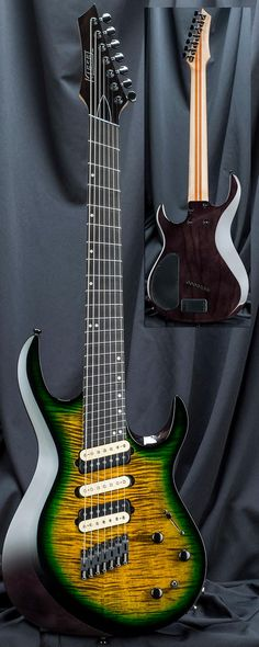 The all-new 24-fret Aries AM7 7-string multiscale fanned-fret guitar from the Kiesel Custom Shop is the latest innovation in bolt-neck guitars. Based on the popular Aries A7, the AM7 features an aggressively beveled body similar to the SCB7, with an ultra-comfortable deep body cutaway and forearm...