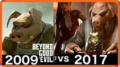 2009 vs 2017 Beyond Good and Evil 2 Trailer Looks Amazing  This game shows how far we've come