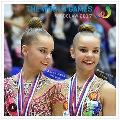 Arina & Dina AVERINA (2nd & 1st) @ World Games Wroclaw ~ 22-23/07/2017