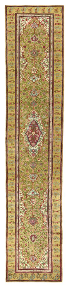 A LONG SHUSHA KARABAGH RUNNER | SOUTH CAUCASUS, CIRCA 1870 18ft.7in. x 3ft.8in. (567cm. x 113cm.) | Christie's