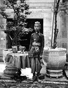 1865 - Crown Prince Chulalongkorn