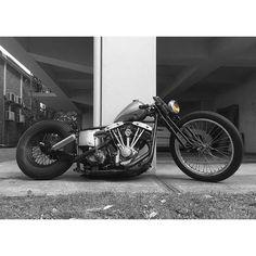 Bobber_custom_shovelhead #harleydavidsonknucklehead