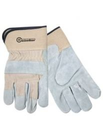 Promotional Products Ideas that work: Split Leather Glove w/Safety Cuffs.  Get yours at www.luscangroup.com