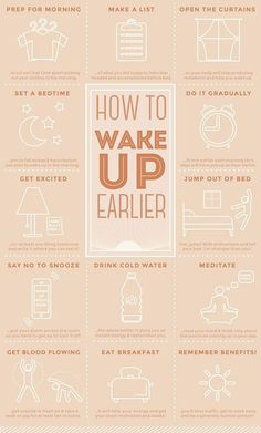 15 Tips On How To Wake Up and Make Mornings Better.