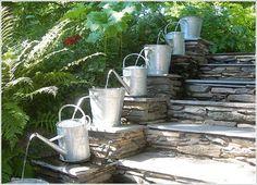 Amazing Interior Design » 10 Waterfall Fountain Ideas to Adorn Your Garden