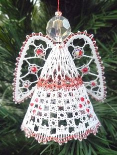 Angel 2014 Christmas Torchon Bobbin Lace Pattern Lacemaking *PATTERN ONLY*