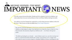 If you are looking for a true hero, you have to read about this family who adopted  35 children, and what makes that even more extraordinary is that 26 of those children had SPECIAL NEEDS.  This family is one that has tremendous faith and courage.  Read about it here http://themostimportantnews.com/archives/why-cant-we-focus-more-on-all-of-the-good-news-in-the-world