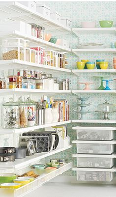 Gorgeous baker's pantry http://rstyle.me/n/d6bmynyg6