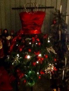 My Christmas dress tree