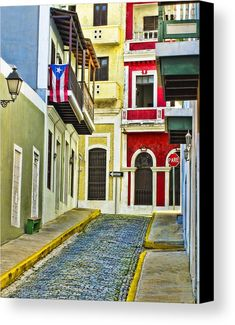 Colors of Old San Juan Puerto Rico Art Print by Carter Jones. All prints are professionally printed, packaged, and shipped within 3 - 4 business days. Puerto Rico Usa, Puerto Rico Island, San Juan Puerto Rico, San Salvador, Puerto Rico Pictures, Old San Juan, Puerto Rican Culture, Puerto Ricans, Beautiful Islands