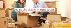 Planned relocation is not only time saving but also leads to safe and happy journey.