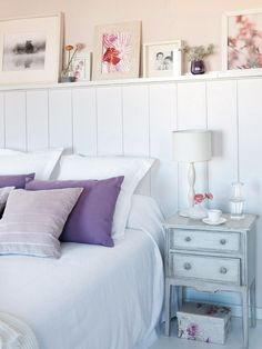 Kate's room or playroom Home Bedroom, Kids Bedroom, Bedrooms, Oh My Home, Dresser As Nightstand, Girl Room, Room Inspiration, Small Spaces, Bed Pillows