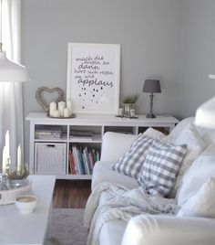Glance around Daniela's calm and comfortable home in Germany | @cozyandcuddly #IKEA