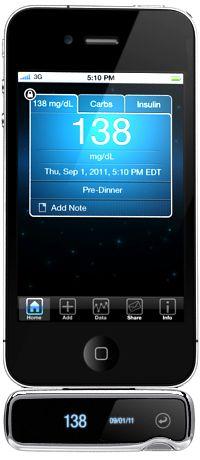 iPhone blood sugar tester-iBG star!