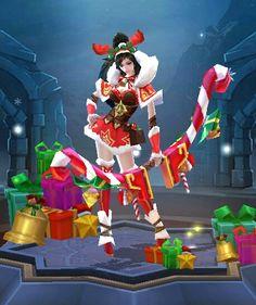 Miya Christmas Cheer Skin. Celi · Mobile Legends