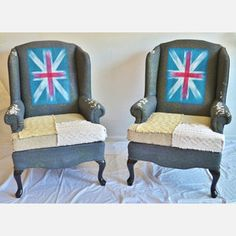 Union Jacky's now featured on Fab. $2435. Somebody I know would love these!