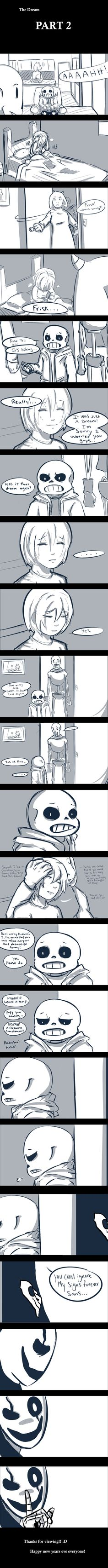 "The Dream Part 2 Undertale fan comic/Frisk/Gaster/sans/papyrus/toriel CHECK OUT THE SEQUEL ""RESET"""