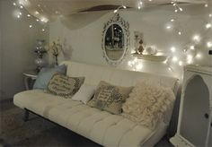 !How to make a small space cozy.