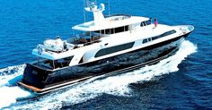 Ferretti 101 Custom line Yacht Charter, 5 cabins, 10+2 berths. Available for charter in Greece.