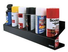 Racor Pro Six Spray Can Rack Shelf #PCR-6R