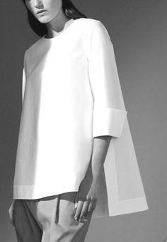 White Shirts For Women - Fazhion - Mode Heuteweb Minimal Fashion, White Fashion, Look Fashion, Fashion Details, Fashion Outfits, Womens Fashion, Fashion Design, Woman Outfits, Boho Outfits