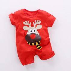 Reindeer 2 Baby Romper