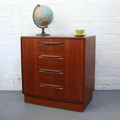 lovely Dresser As Nightstand, Chest Of Drawers, Fresco, Globe, How To Plan, Table, Furniture, Vintage, Ideas