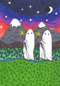 sparkel ghosts by cavetown